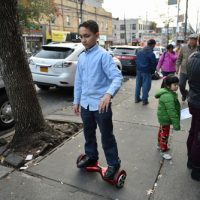 Rolling hoverboard
