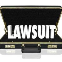 Lawsuit Briefcase Legal Court Case 3d Words