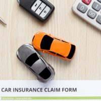 The Car incsurance claim form