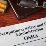 Image that reads OSHA
