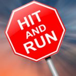 red hit and run sign