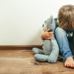 child traumatized after bad abuse experience