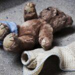 stripped teddy